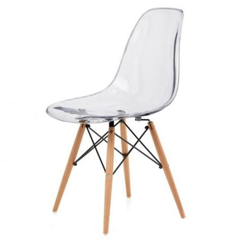 eames dining chair dsw transparent design chairs