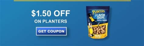 Planter Peanuts Coupons by Save 1 50 On Planters Peanuts Coupons 4 Utah
