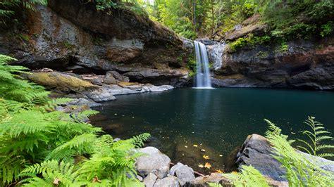 wallpaper hd nature 3d nature waterfall landscape hd wallpaper stylishhdwallpapers