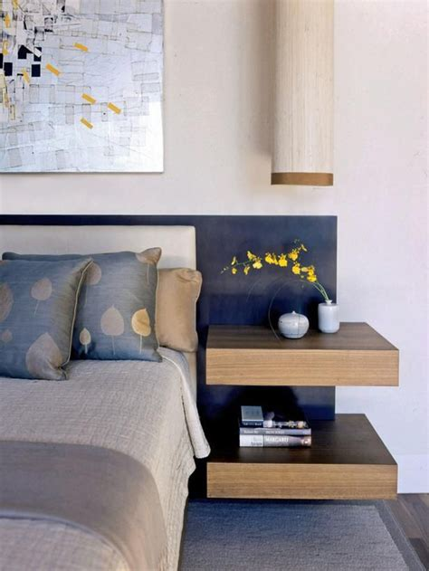 headboard with floating side tables 25 best ideas about floating nightstand on pinterest