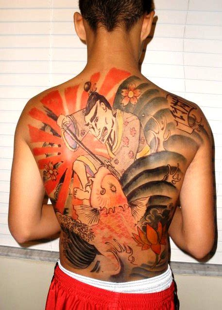japanese style back tattoo by nomad037 on deviantart