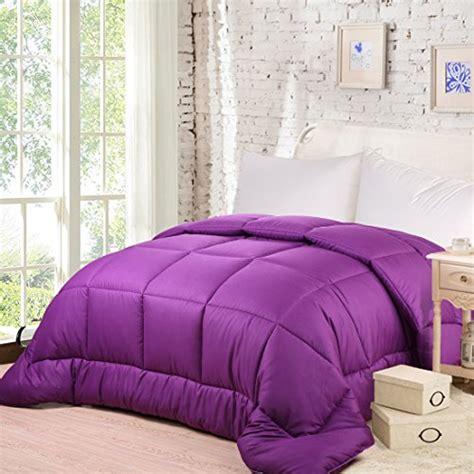 purple down comforter queen balichun queen goose down alternative comforter purple
