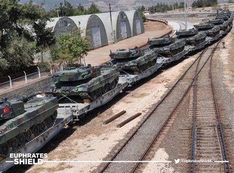 Siria Leopard turkey sending leopard 2 tanks to northern syria