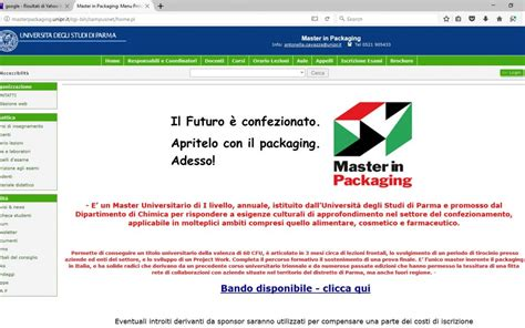 tecnologo alimentare parma master in packaing a parma the packaging community mag