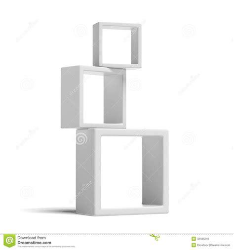 white box shelves white box shelves stock illustration image of design 32485240