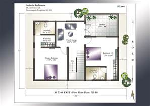 home design plans 30 40 30 x 40 house plan east facing house plan home plans india