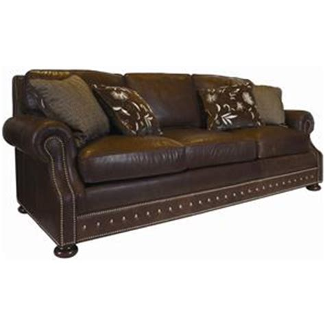 kingstown home warner sofa kingstown leather by tommy bahama home baer s