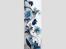 beautiful borders for chart paper - Google Search ... Easy Flower Designs For Glass Painting