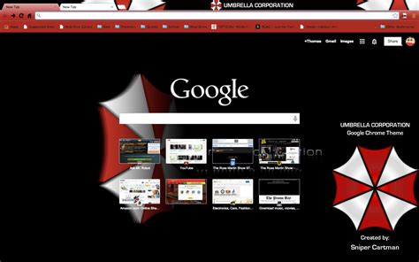 theme google chrome manchester city umbrella corporation google chrome theme by snipercartman