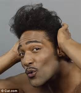 conk hair styles black video covers black men s hair fashion trends over the last