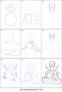 how to do doodle step by step how to draw deadpool printable step by step drawing sheet