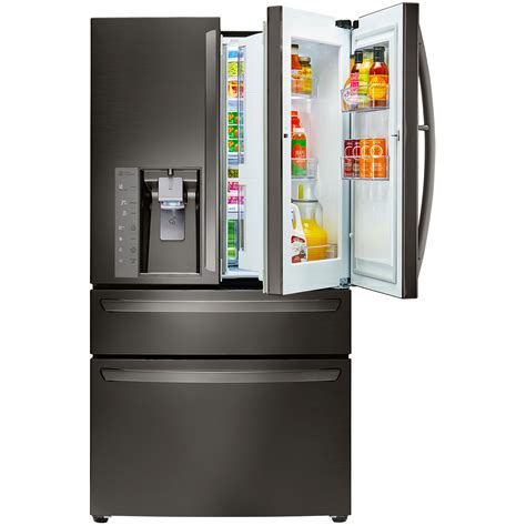 lg lmxs30776d 29 7 cu ft door in door refrigerator w