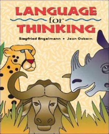 language in a guide to accurate thinking reading and writing classic reprint books language for thinking student picture book mcgraw hill