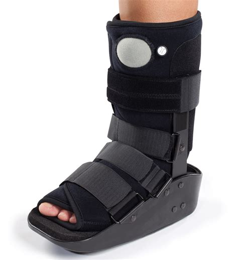 walking boot for broken foot donjoy maxtrax air ankle walker boot walking brace