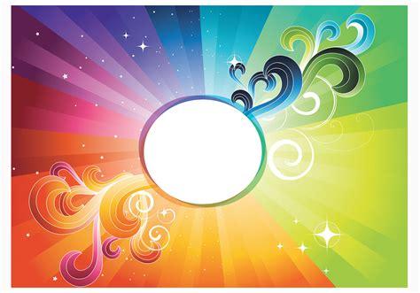 rainbow abstract wallpaper vector   vectors