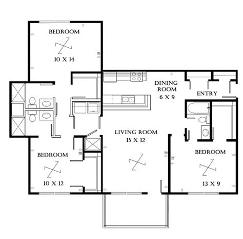 best 3 bedroom floor plan amazing best 3 bedroom floor plan best home design luxury
