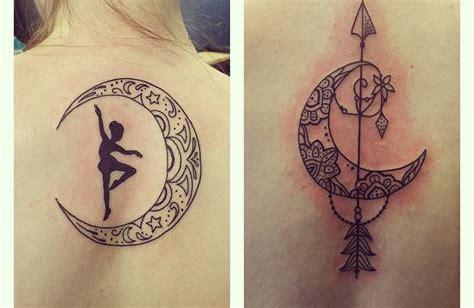 imagenes de tatuajes de lunas los tatuajes de lunas y estrellas