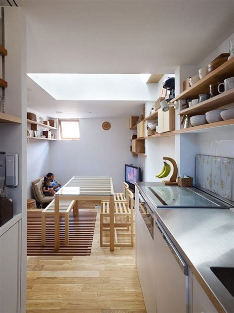 narrow house interior design flexible modern architecture surprising narrow house in japan freshome com