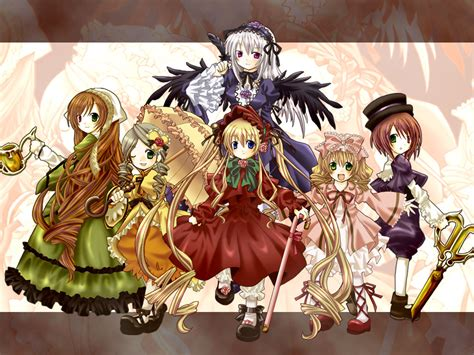 rozen maiden rozen maiden kyaaaaa kawaii anime photo