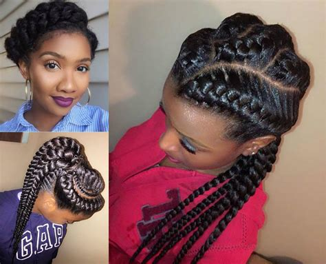 Braid Hairstyle by Amazing Goddess Braids Hairstyles Hairdrome