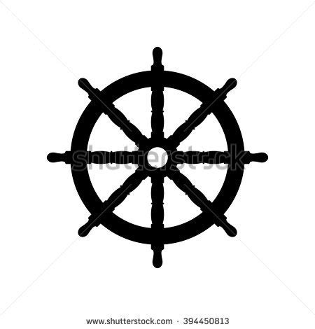boat steering wheel helm steering wheel stock vector 194533370 shutterstock