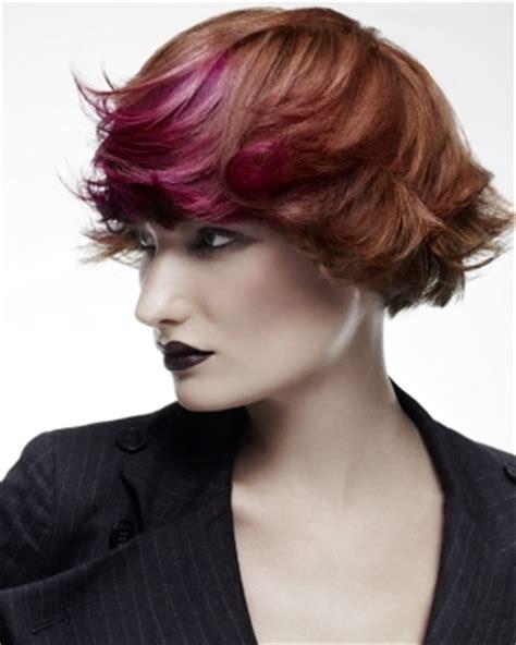 hairstyles colored bangs colored bangs hairstyles