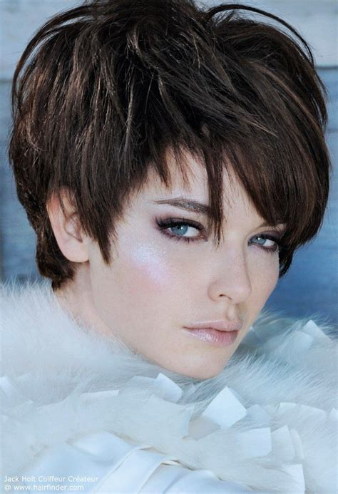 short frosted hair cut best 25 frosted hair ideas on pinterest