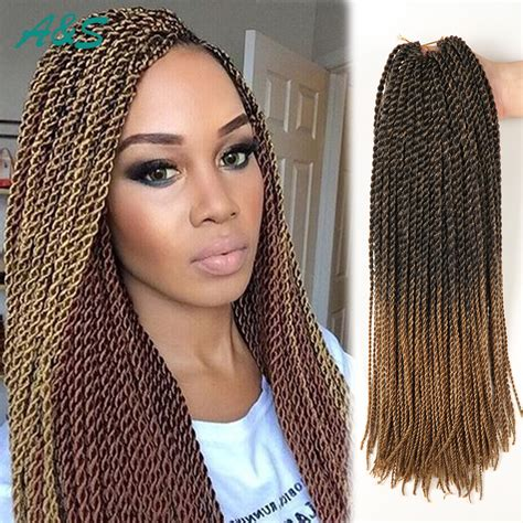 using crochet braids on thinning hair sexy 11 colors crochet hair 18 inch thin senegalese twist