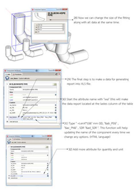 sketchup assembly tutorial sketchup dynamic components tutorial dynamic component 3d