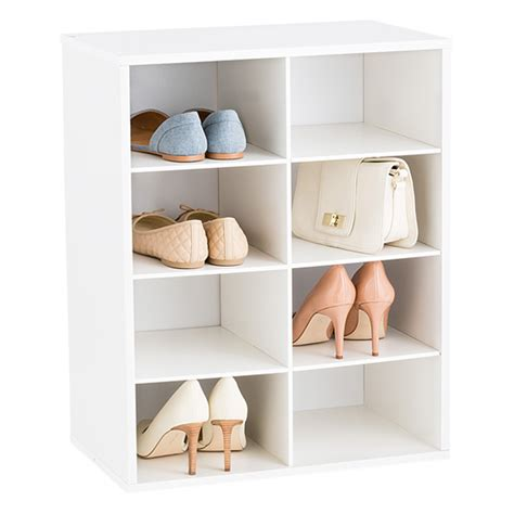 the container store shoe storage 8 pair shoe organizer the container store