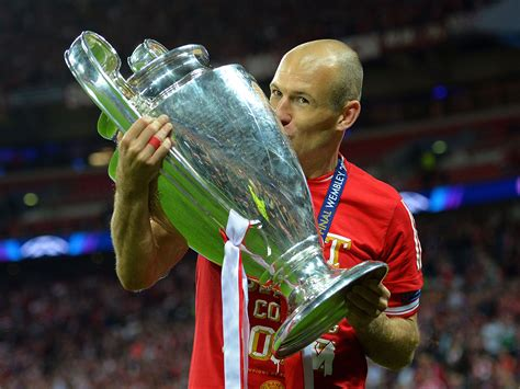 aren roben arjen robben would rather leicester than arsenal