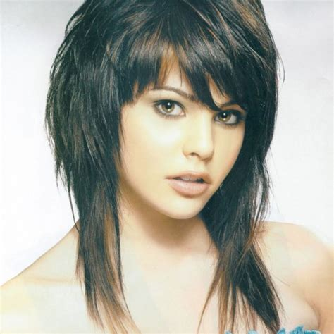 shag hairstyle for round face and fine hair hairstyle for round faces hairstyle for women