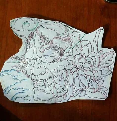 japanese oni mask tattoo designs 174 best hanya images on japan