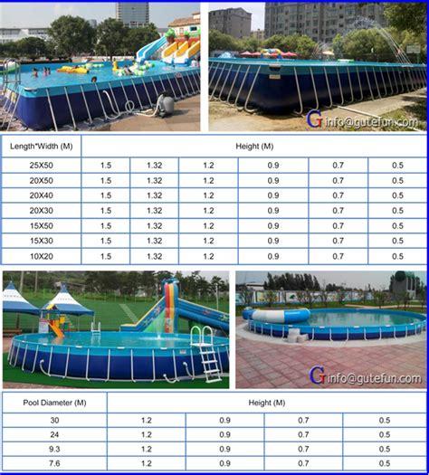 standard backyard pool size 2015 rectangular freestanding backyard above ground