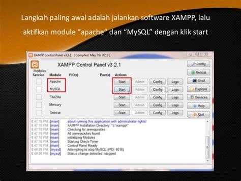 langkah awal membuat website sendiri cara menginstall cms dengan aplikasi xp