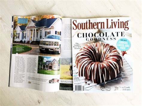 southern living at home magazine images