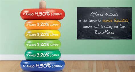offerte banco posta obbligazione tasso fisso sprint bancoposta investire in