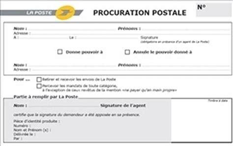 Exemple De Lettre De Procuration Pour Retrait Colis Modele Procuration Pour Retirer Un Colis A La Poste Document