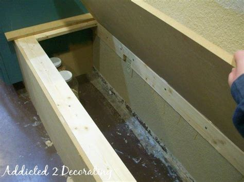 How To Make A Banquette by Banquette Storage Bench Plans Woodworking Projects Plans