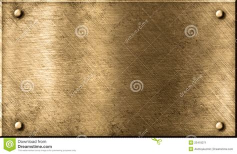 grunge metal brass  bronze background stock image
