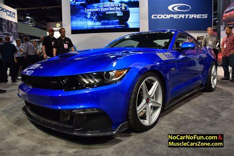blue saleen mustang 2015 ford mustang 302 saleen metallic blue 2015 sema