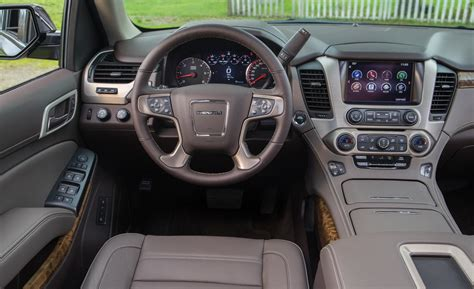 Gmc Yukon 2015 Interior car and driver