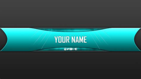 Youtube Banner Template Free Best Template Idea With Banner Designs