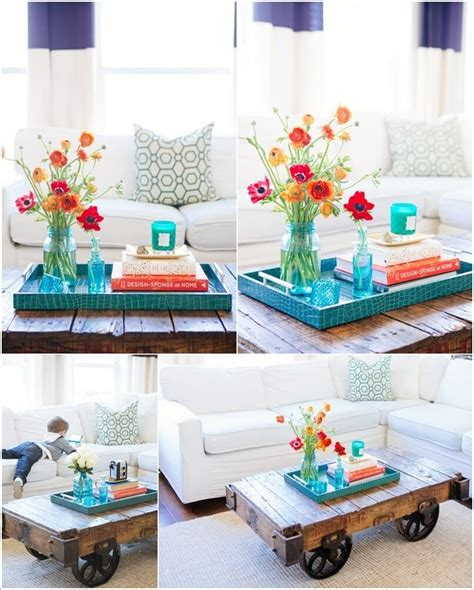 table centerpiece ideas 10 creative diy coffee table centerpiece ideas