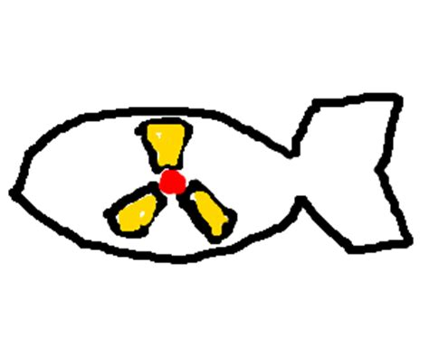 doodle how to make nuclear bomb nuclear bomb drawing by higgy