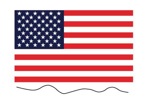 vector flag tutorial illustrator tutorial waving flag of the usa