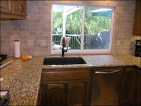 Kitchen Sink Backsplash Ideas by Kitchen Sink Backsplash Subway Tile Kitchen Backsplash