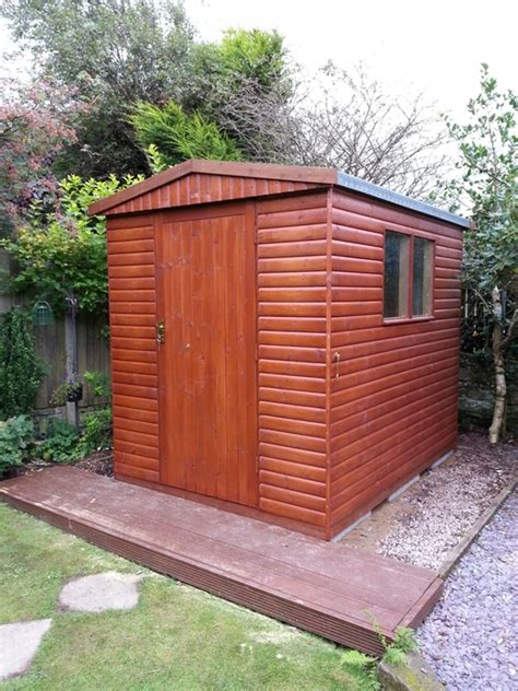 8 x 6 timber garden shed whitehaven cumbria premium