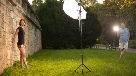 Lighting For Outdoor Photography Help The Sun Using Artificial Light In Outdoor