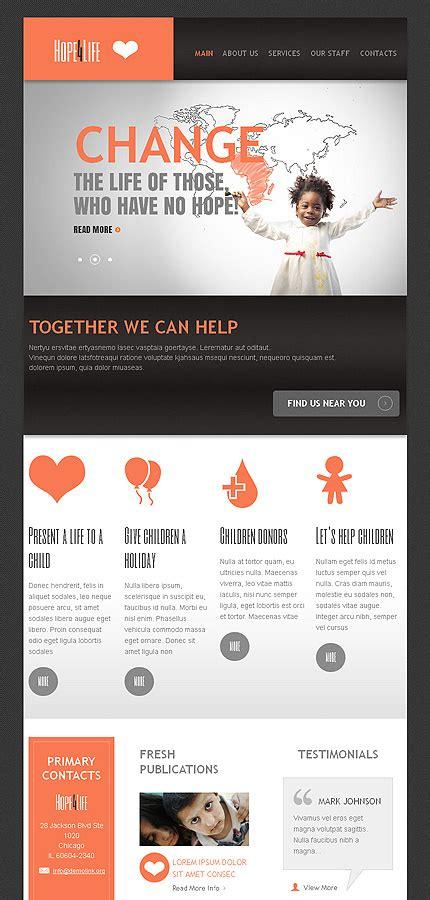 drupal themes nonprofit charity organization drupal template 44891